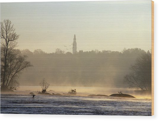 Carillon Mist Wood Print