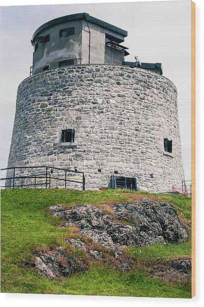 Carleton Martello Tower Wood Print
