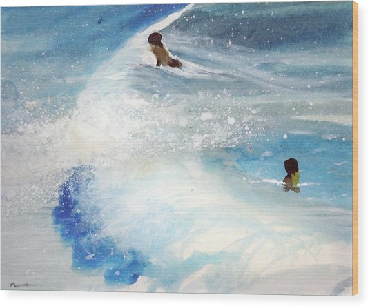 Carmel By The Sea Wood Print