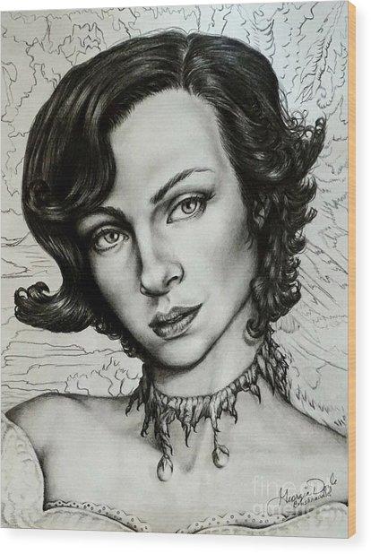 Carmella Wood Print