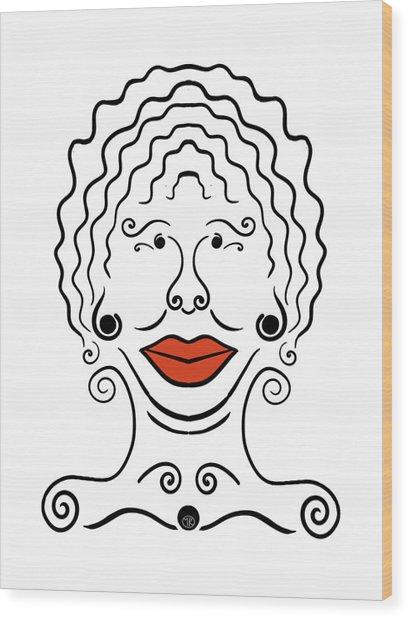 Carmina Wood Print