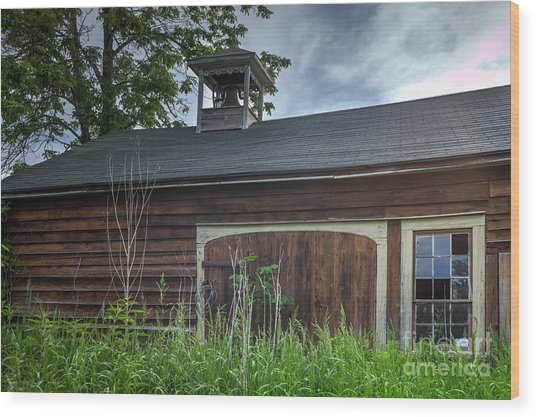 Carriage House Wood Print