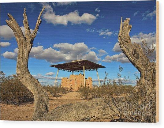 Casa Grande Ruins National Monument Wood Print