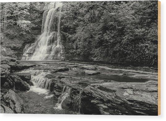 Cascades Waterfall Wood Print