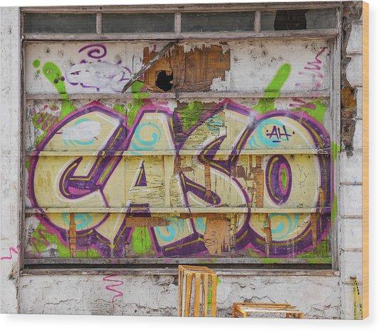 Caso Wood Print