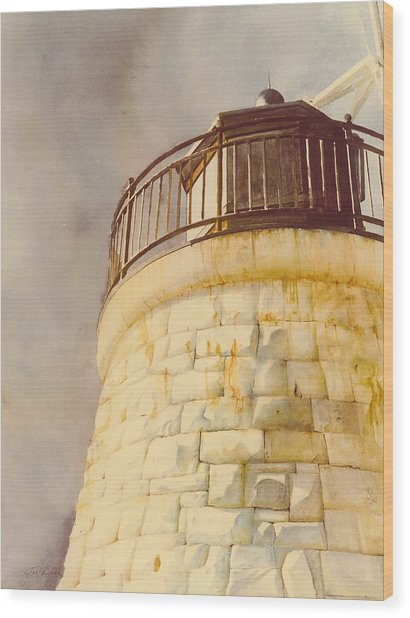 Castle Hill Light Wood Print