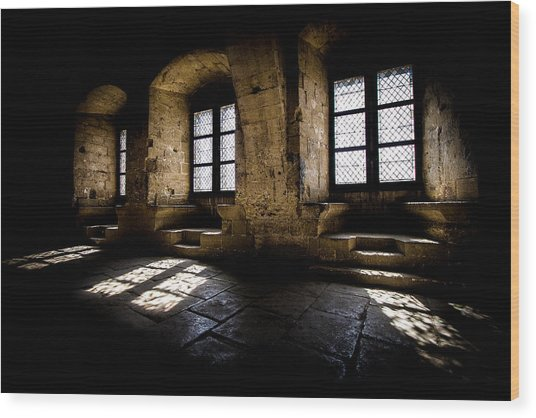Wood Print featuring the photograph Castle Light by Jason Smith