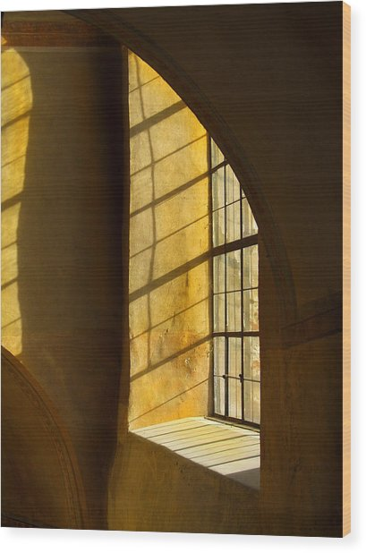 Castle Light Wood Print