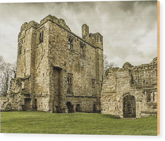 Castle Of Ashby Wood Print