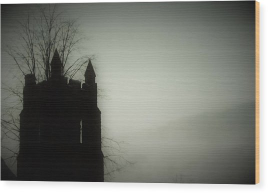 Castle Tower Wood Print