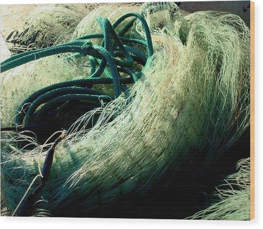 Castnet Ropes Wood Print
