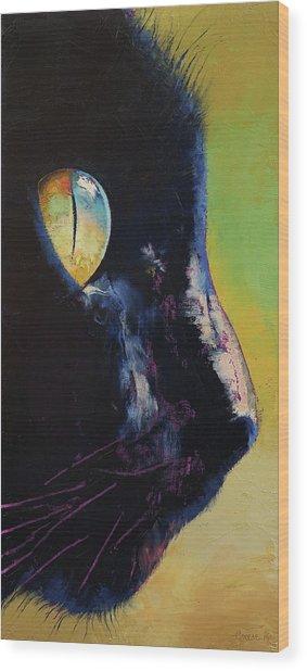 Cat Eye Wood Print