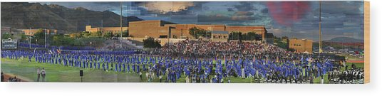 Catalina Foothills High School Graduation 2016 Wood Print
