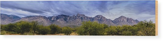Catalina Mountains P1 Wood Print