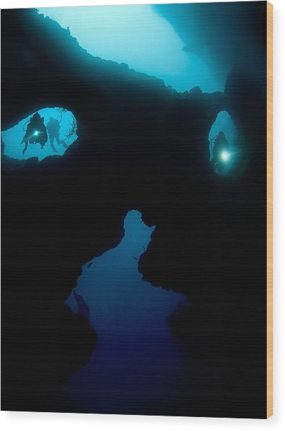 Cathedral At Pescador Island Wood Print by Henry Jager