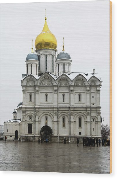 Cathedral Of Archangel Michael Wood Print