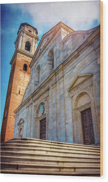 Cathedral Of Turin Italy  Wood Print