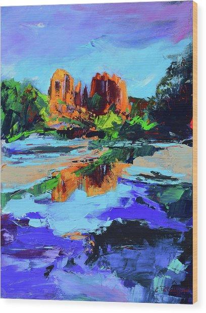 Cathedral Rock - Sedona Wood Print