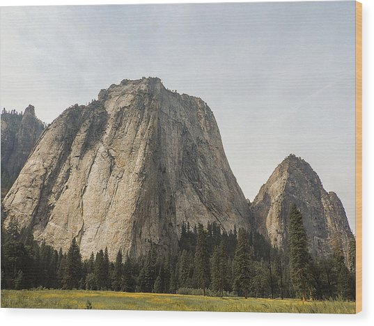 Cathedral Spires Yosemite Valley Yosemite National Park Wood Print