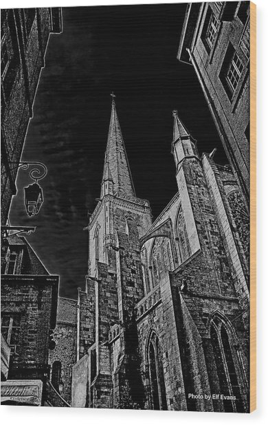 Cathedrale St/. Vincent Wood Print