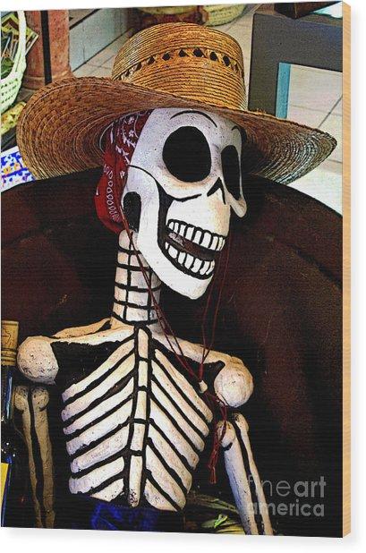 Catrina Of Mexico Ct-0002 Wood Print