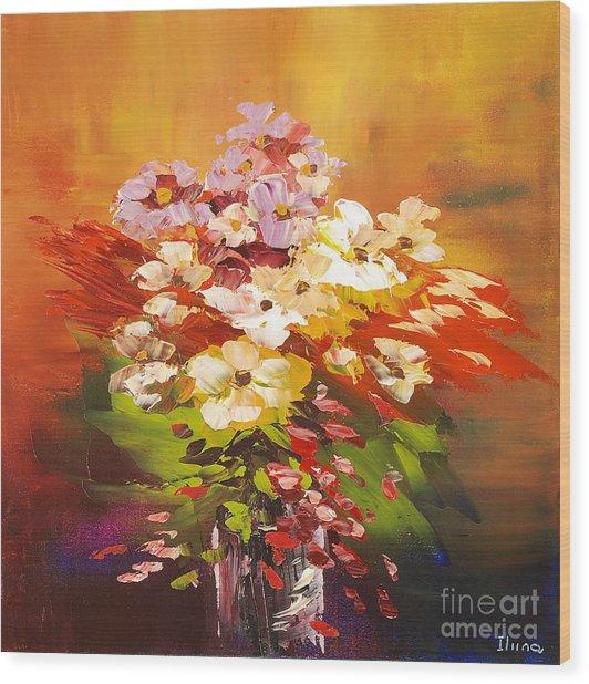 Cavalcade Of Color Wood Print