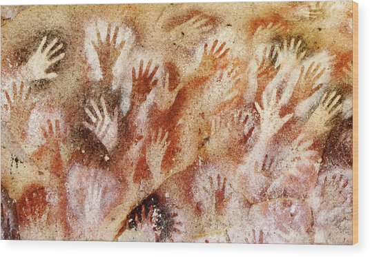 Cave Of The Hands - Cueva De Las Manos Wood Print