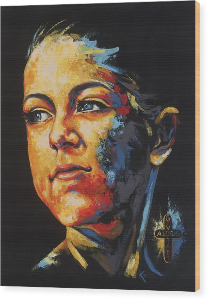 Cecilie Wood Print