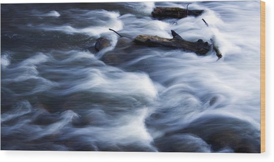 Cedar Creek Rapids Wood Print