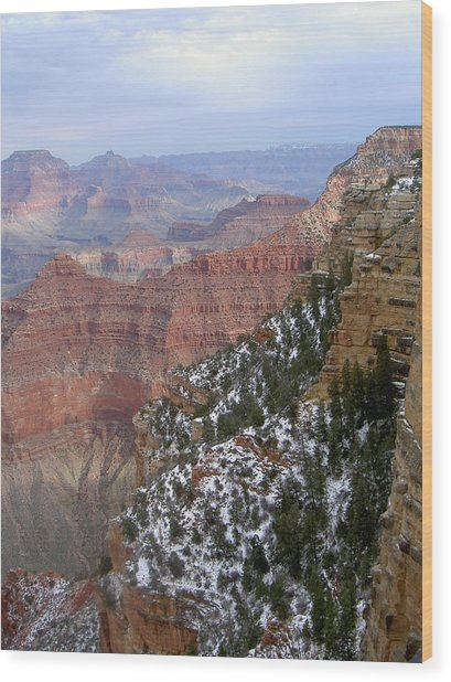 Cedar Ridge Grand Canyon Wood Print