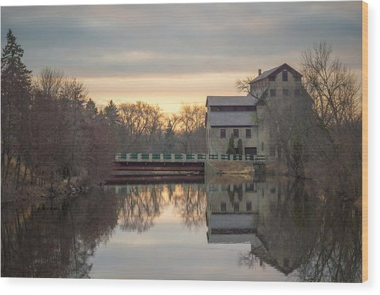 Cedarburg Mill Wood Print