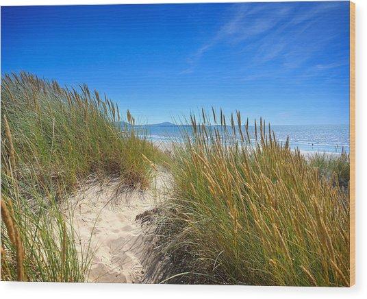 Cefn Sidan Beach 2 Wood Print