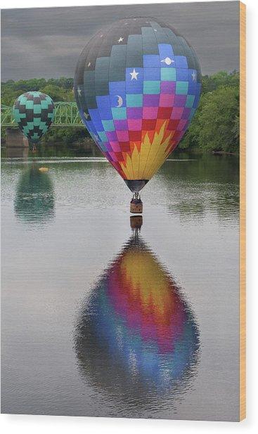 Celestial Reflections Wood Print