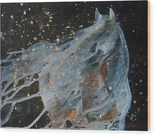 Celestial Stallion  Wood Print