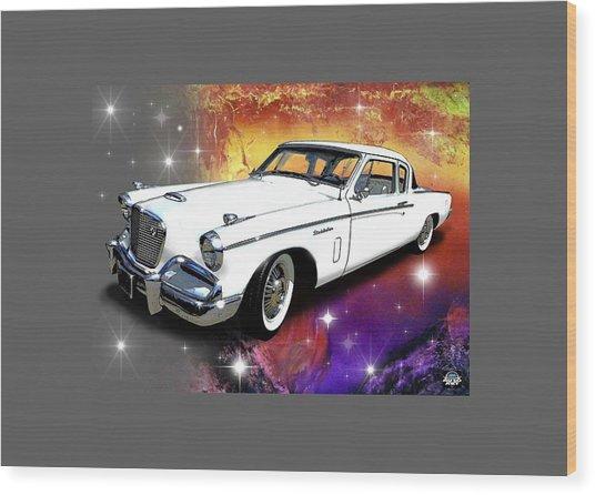 Celestial Studebaker Wood Print