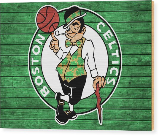 Celtics Barn Door Wood Print