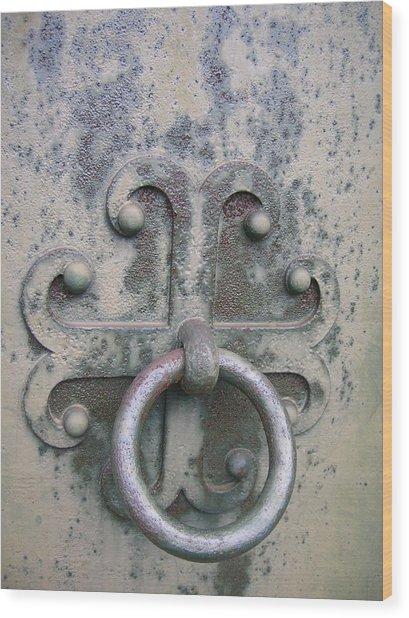 Cemetery Still-life Wood Print by Jonathan Kotinek