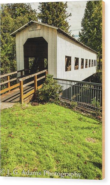 Centennial Bridge Wood Print