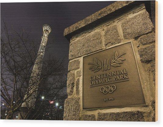 Centennial Park 1 Wood Print