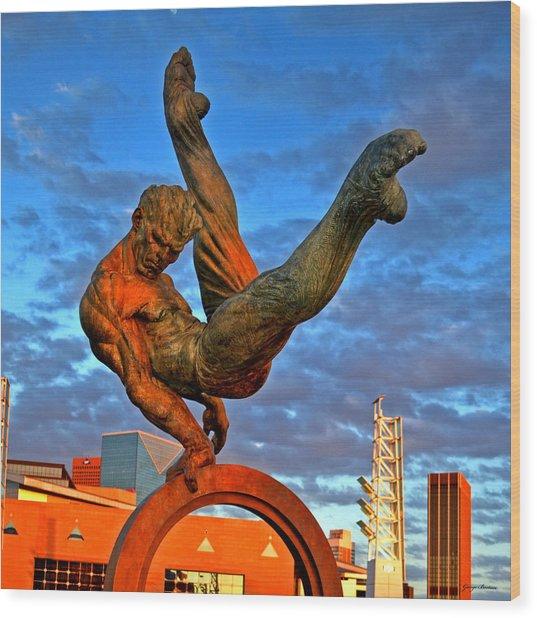 Centennial Park Statue 001 Wood Print