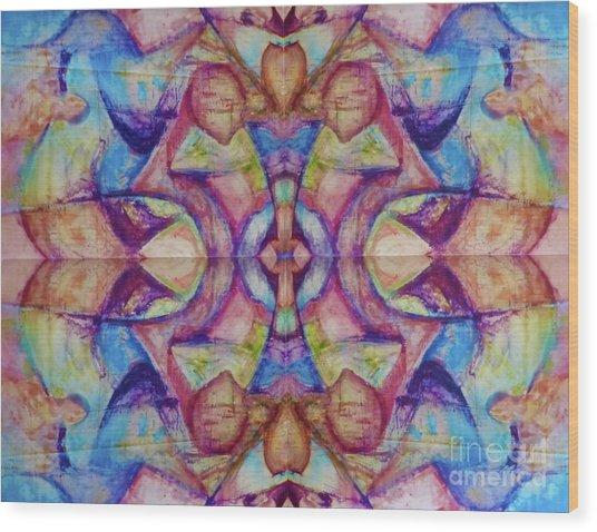 Center Wood Print