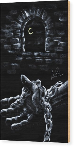 Chains Wood Print