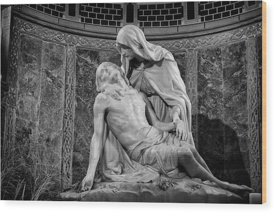 Chapel Of The Pieta 2 Wood Print