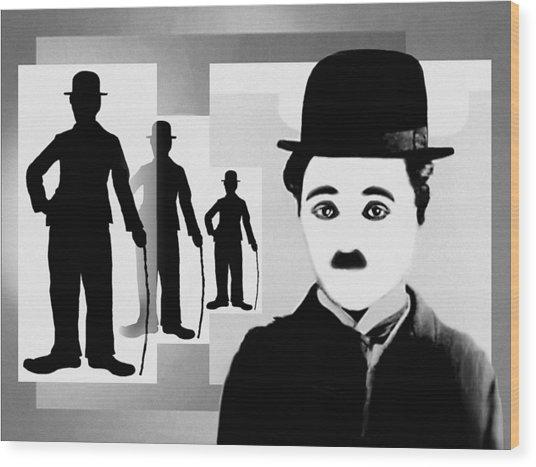 Chaplin, Charlie Chaplin Wood Print