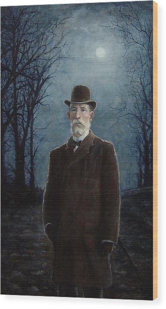 Charles A. Squires Wood Print