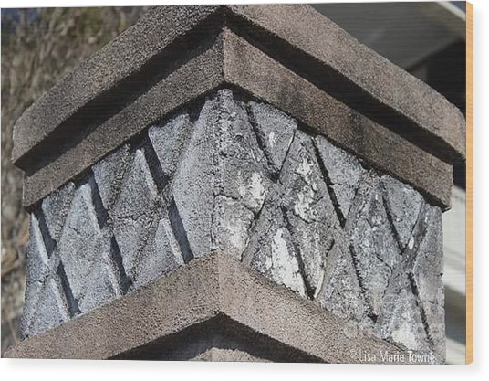 Charleston Architecture. Murray Blvd Wood Print