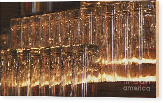 Chasing Waterfalls Wood Print