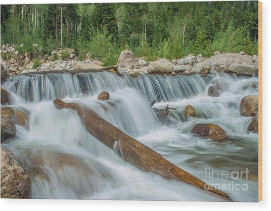 Chasm Falls Wood Print