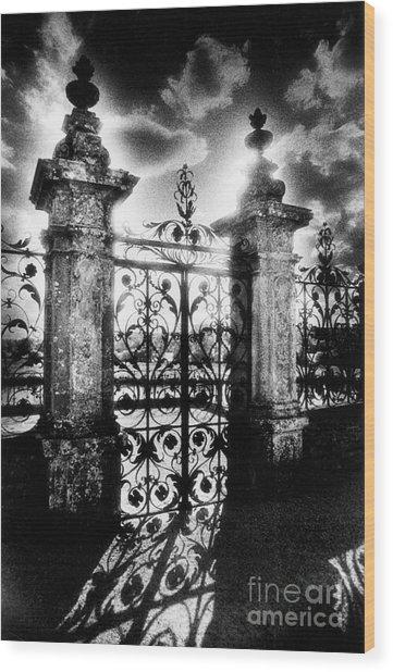 Chateau De Carrouges Wood Print
