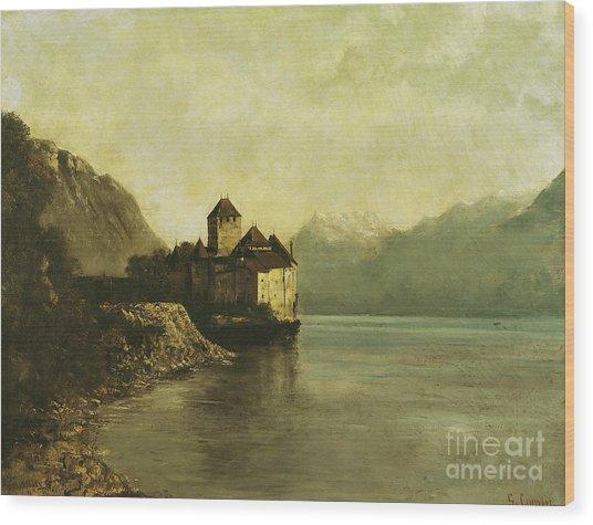 Chateau De Chillon Wood Print